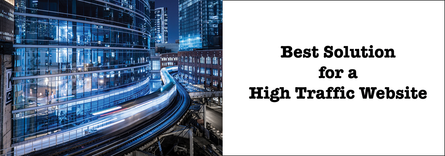 Read more about the article Finding the best hosting solution for a fast high-traffic website