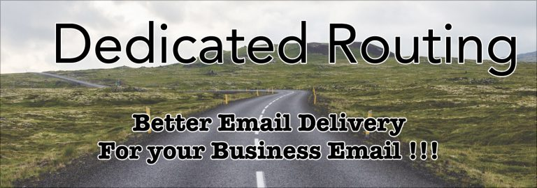 Read more about the article Dedicated MTA a.k.a. eMail Routing